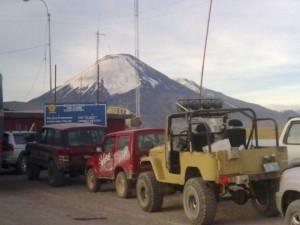 Top Gear, Bolivia/Chile border at Chungar